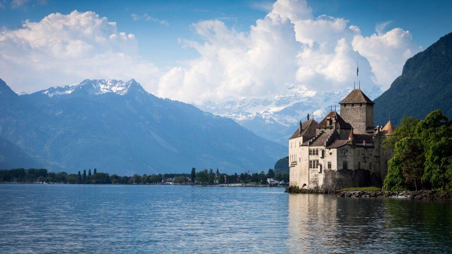 Chateau Chillon Montreux Switzerland