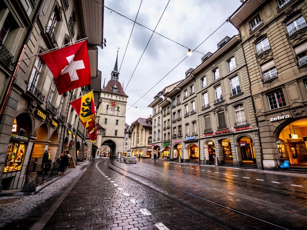 Lucerne Bern Switzerland Street