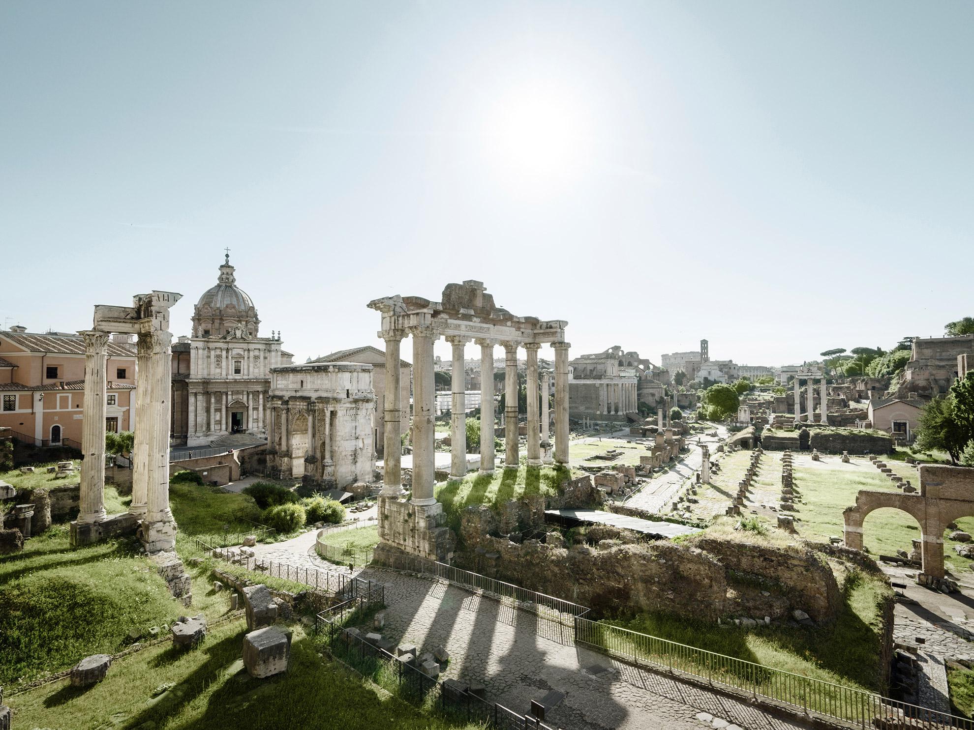 Roman Ruins Rome Italy