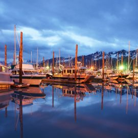 Seward Marina Resurrection Bay Alaska