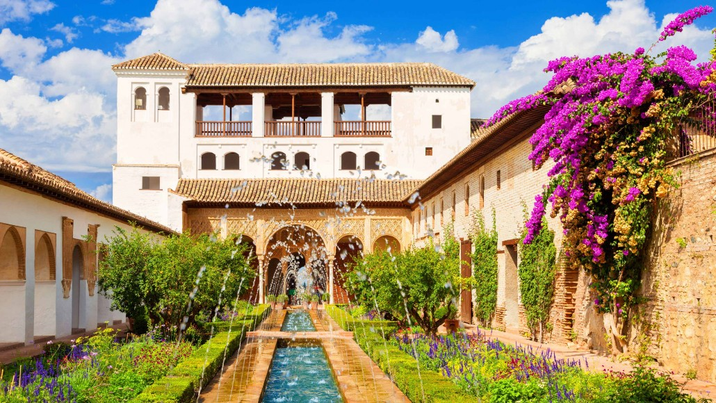 Generalife of the Alhambra de Granada