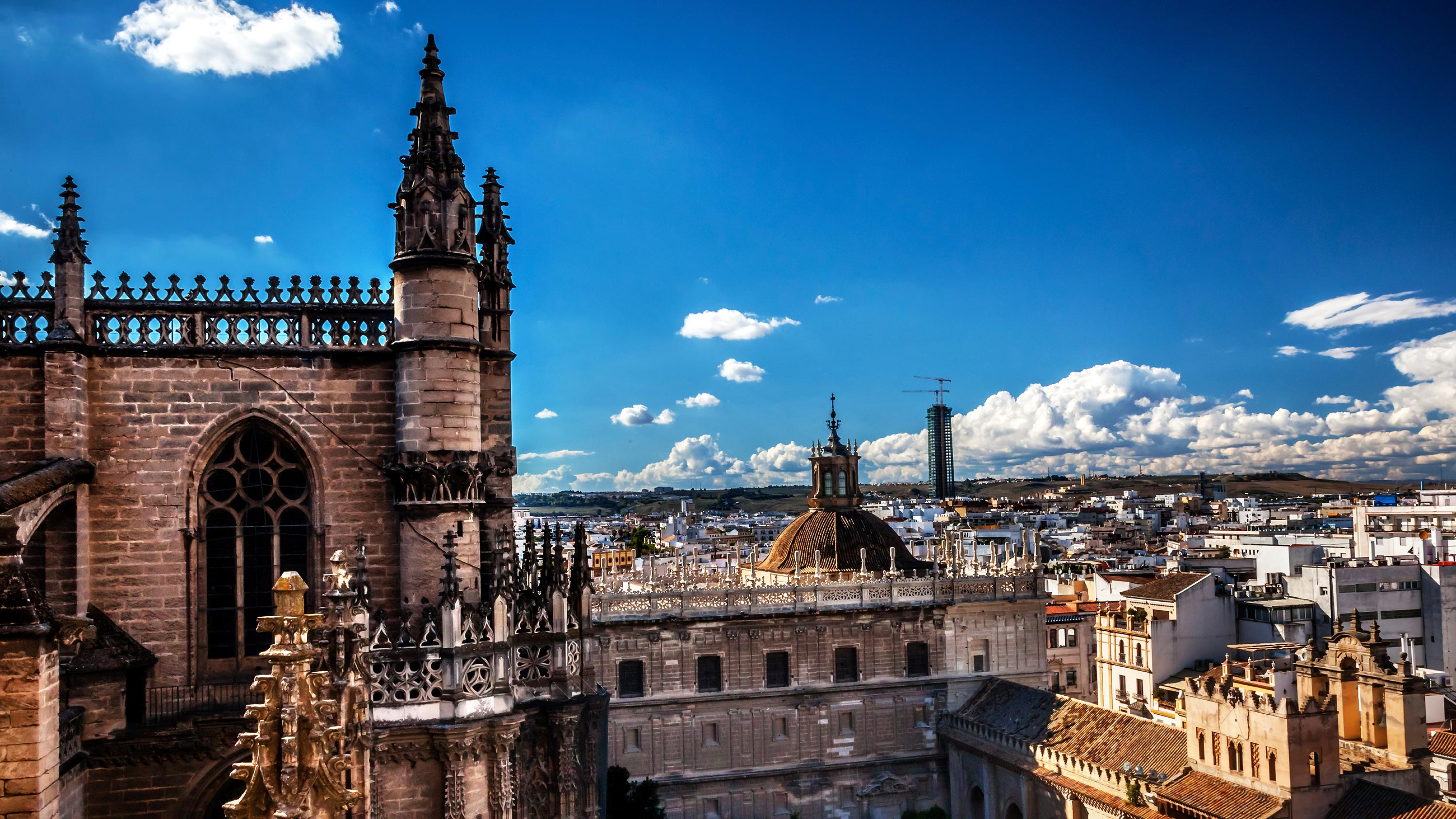Giralda Tower Seville Cathedral Spain