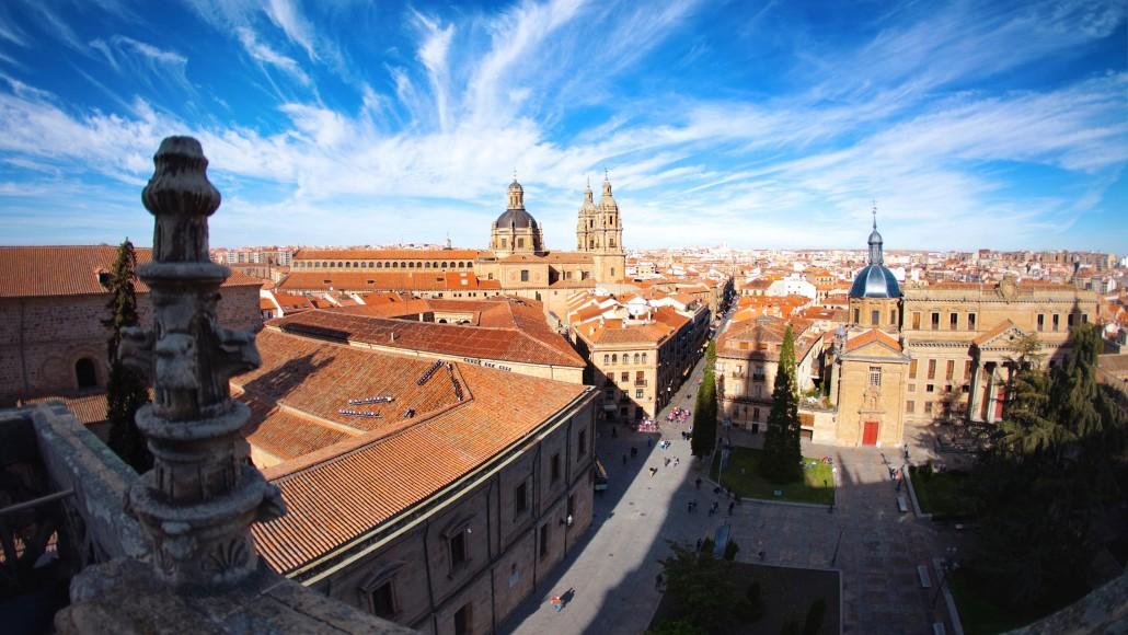 Salamanca Spain Aerial