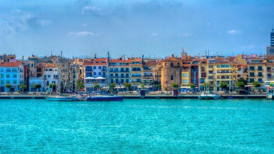 Tarragona Seascape Spain