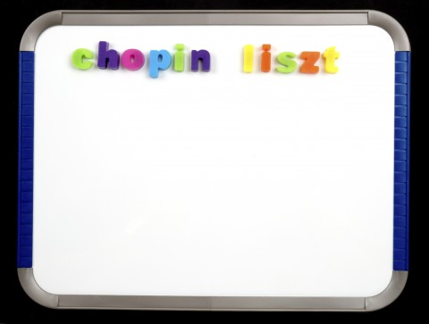 Magnetic Board - chopin liszt