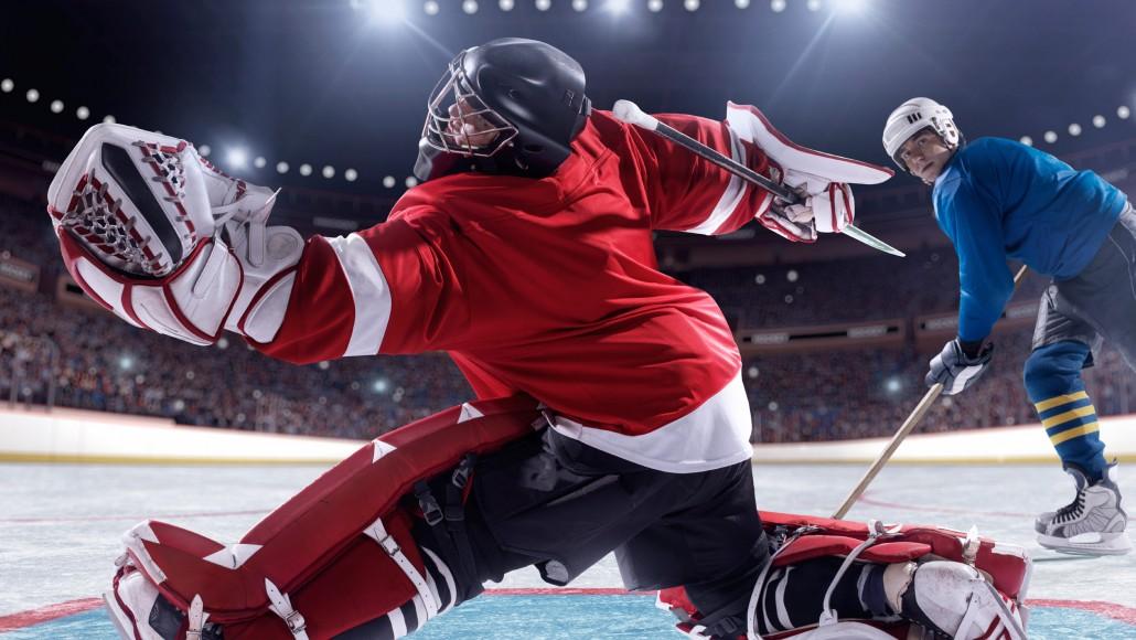 Hockey goal!