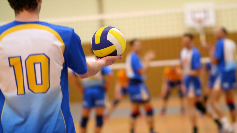 Volleyball server