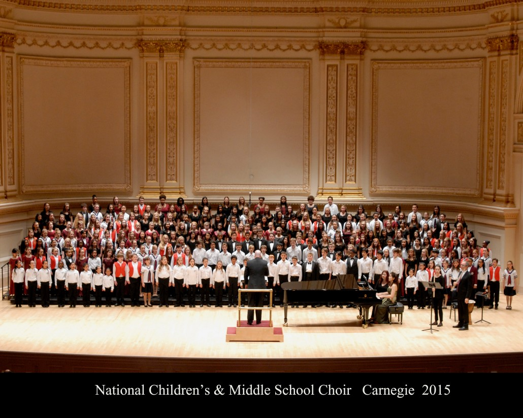 Carnegie Childrens and Middle School Choir