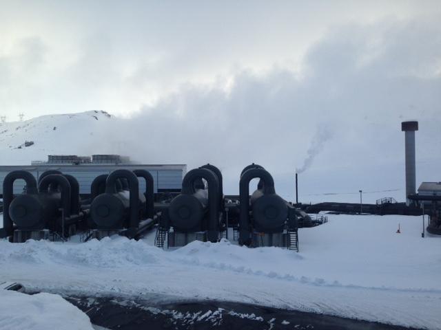 Iceland Power Plant