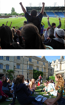 activties and fun - oxford - oxbridge academic programs