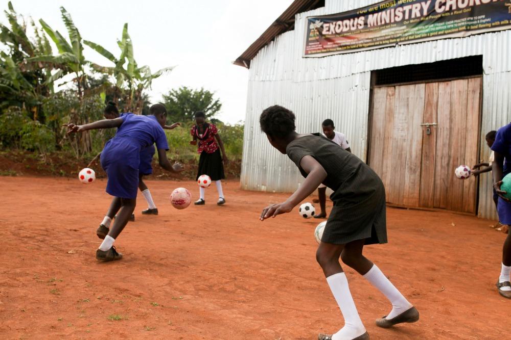 Soccer Donation to Uganda