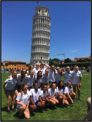 Italy Soccer Tour - Leaning Tower of Pisa