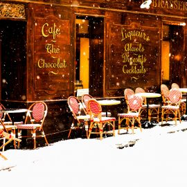 Cafe the Chocolat, Paris France