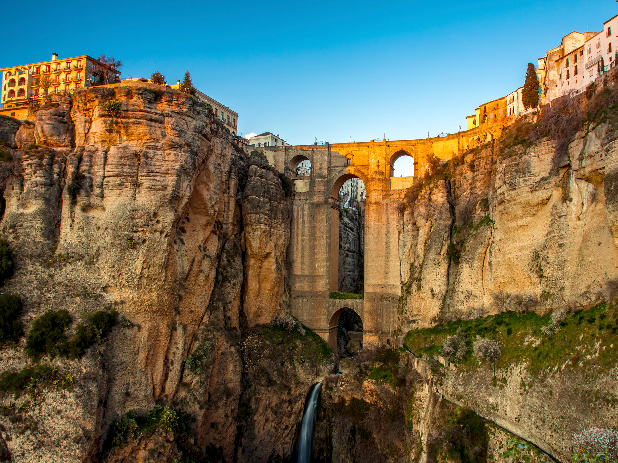 Cliffside Village of Ronda Spain