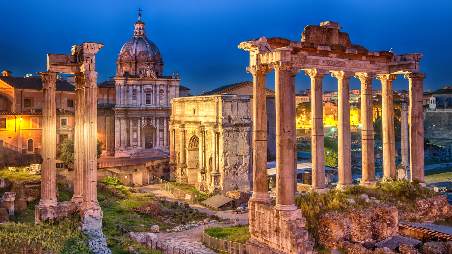 Explore the Roman Forum in Rome, Italy