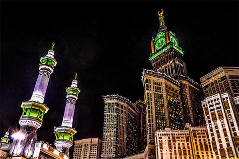 Mekkah Royal Clock Tower Hotel, Mecca, Saudi Arabia