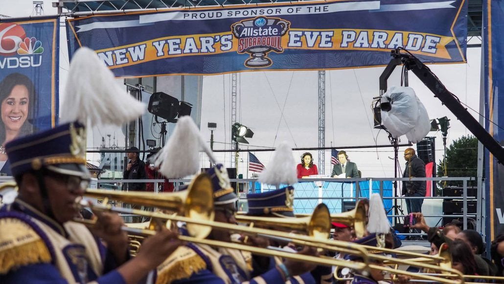 Student Band Participate in Allstate Sugar Bowl Parade