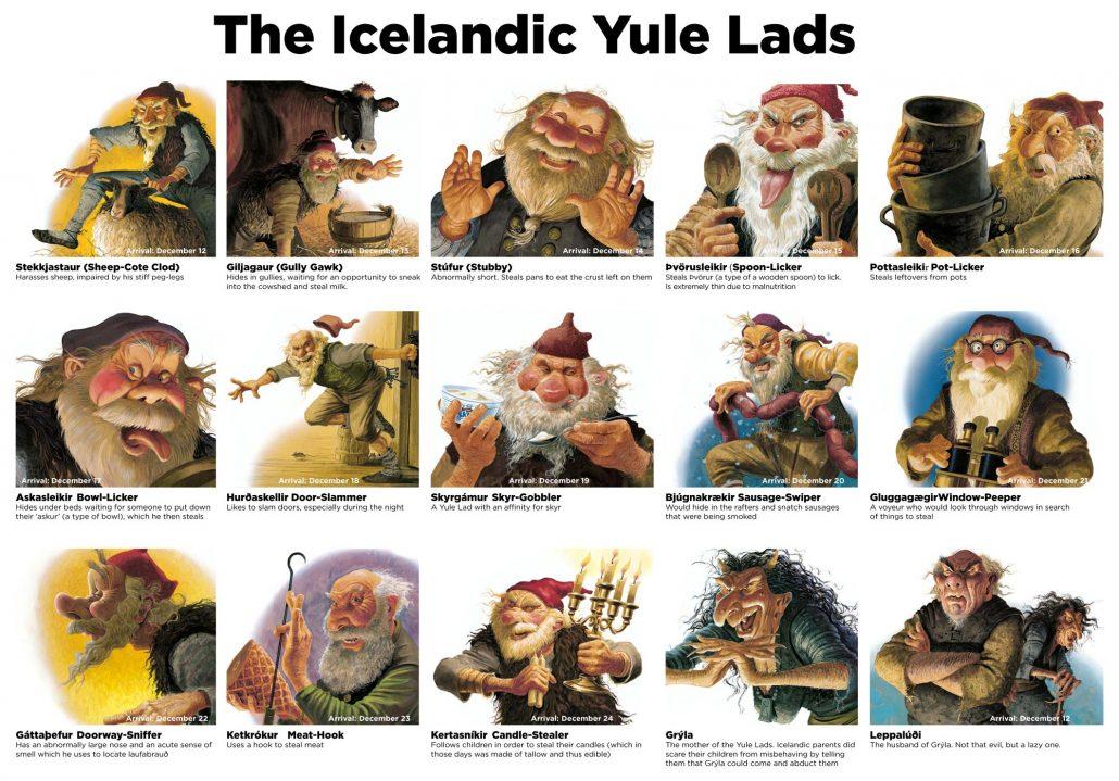 Iceland Yule Lads