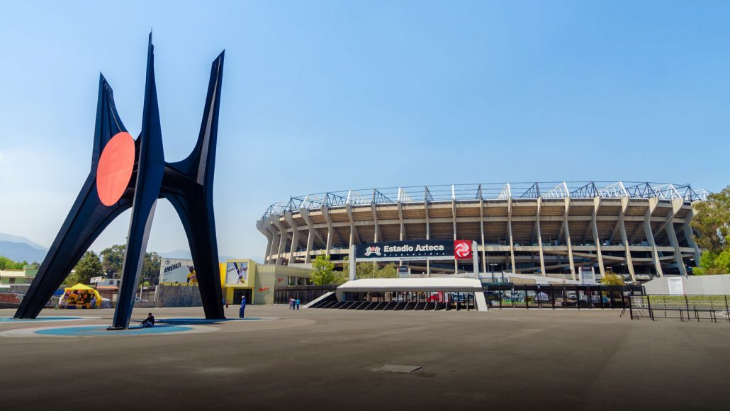 Azteca Soccer Stadium, Mexico City, Mexico