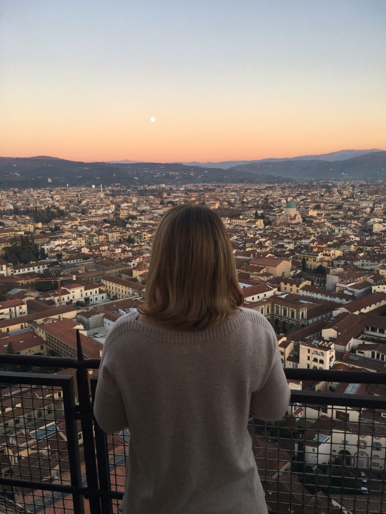 Sunset from the Duomo in Florence