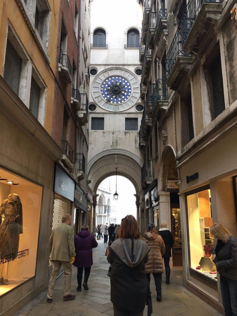 Venice Italy Clock
