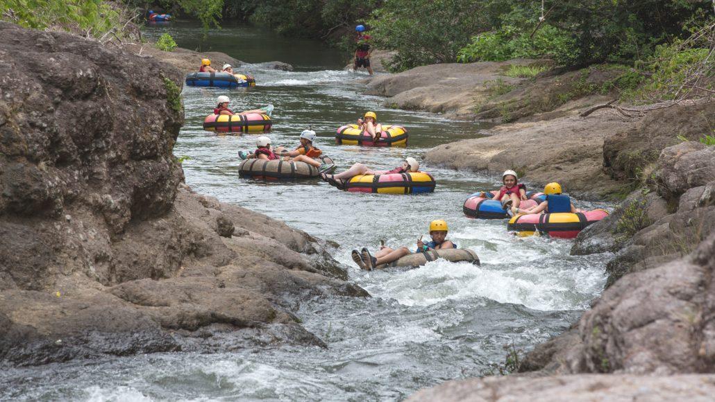 Tubing in Costa Rica