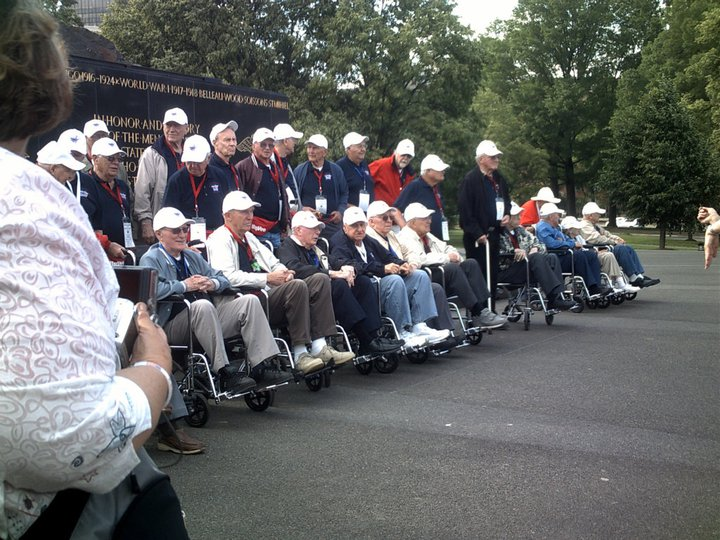 Iwo Jima Memorial Honor Flight