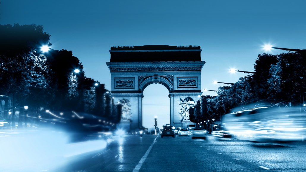 Students can travel to France and visit the Eiffel Tower, the Louvre and Notre Dame Cathedral