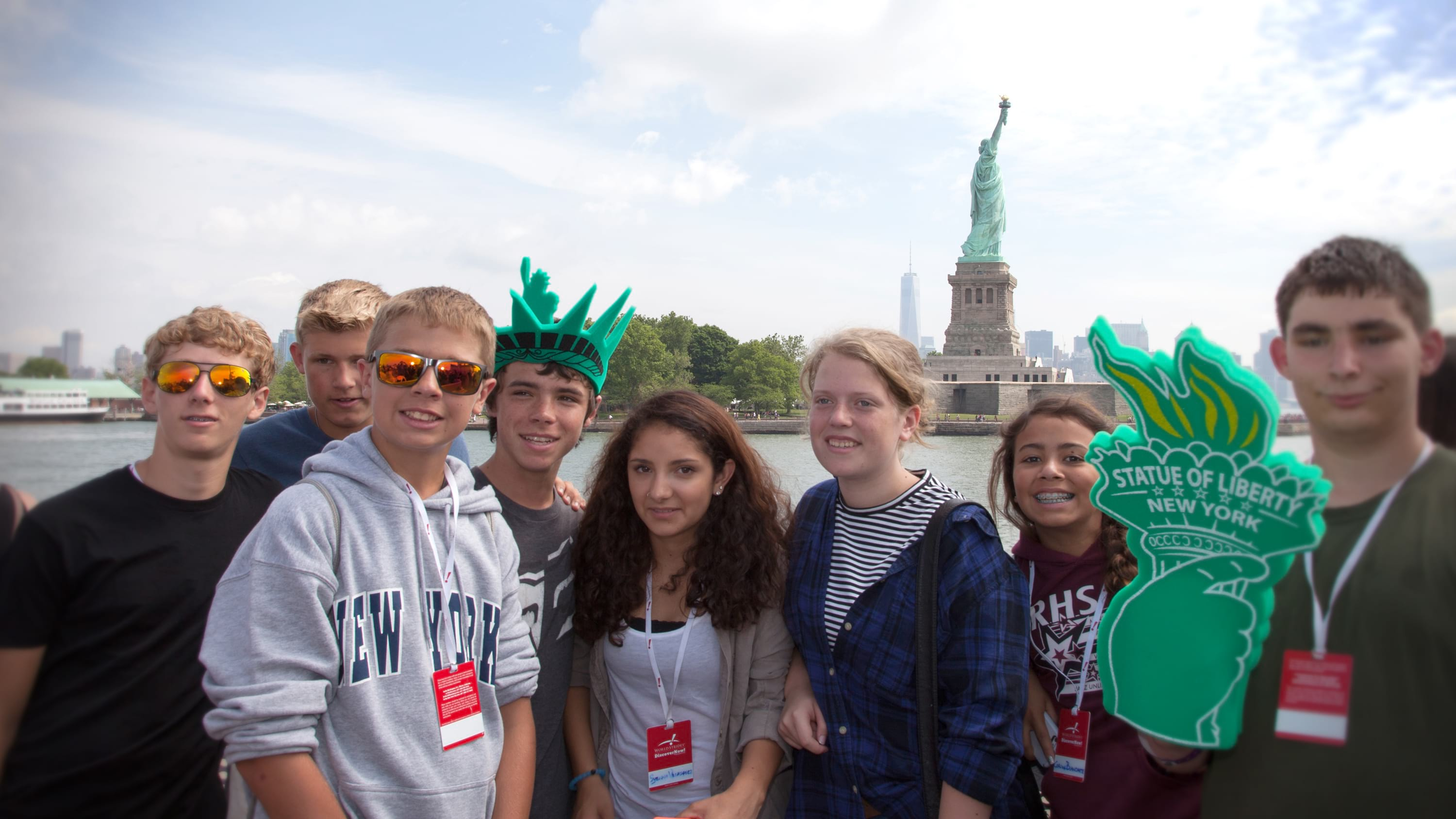 Teachers explore the Big Apple with their students in New York City