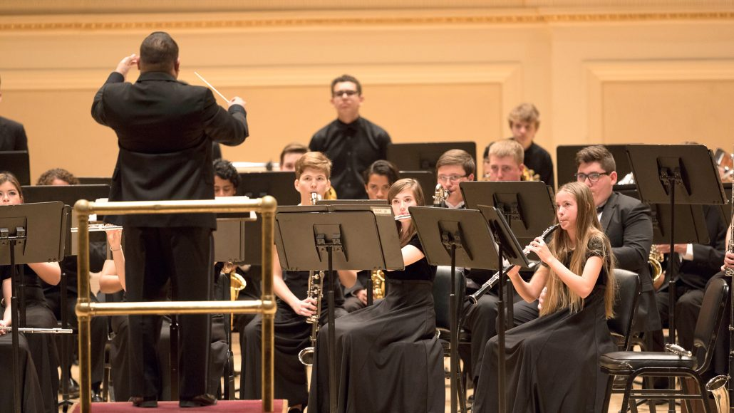 Students perform in International Faith-Based Concert Tours around the world