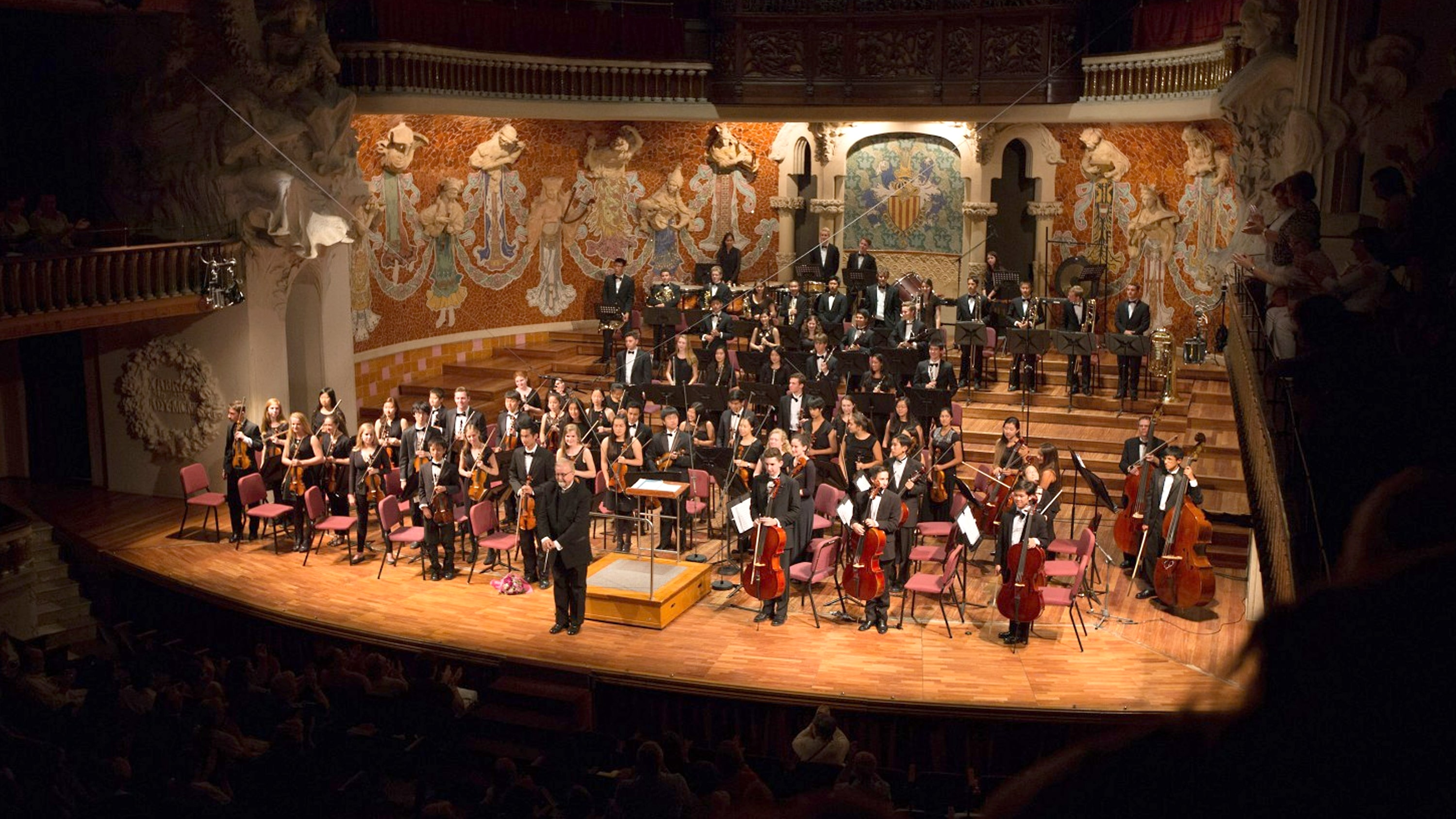 Students perform in customized international concert tours