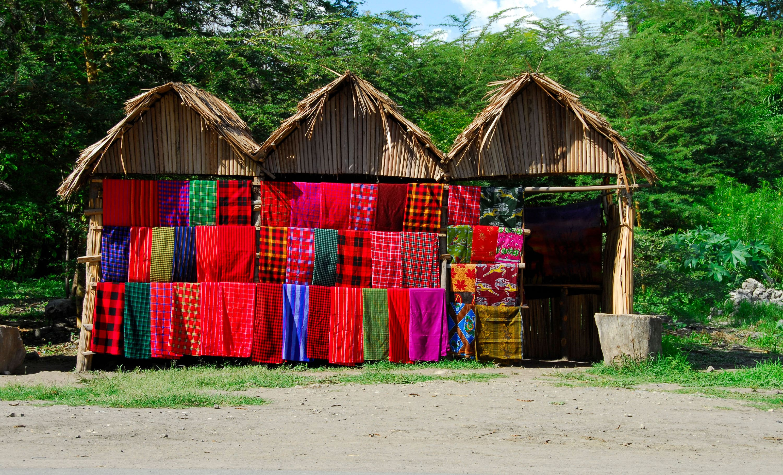Tanzania leadership program - Masai Blankets - Tanzania