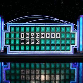 Wheel of Fortune board reads
