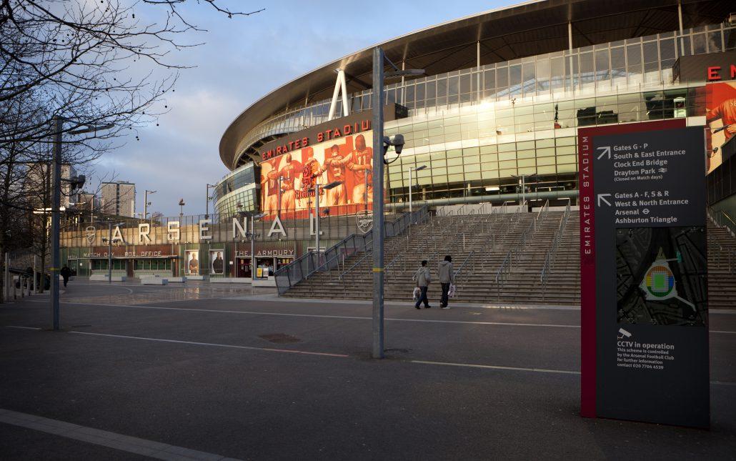 Arsenal Soccer Stadium, Highbury, North London