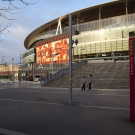 Arsenal Soccer Stadium, Highbury, North London