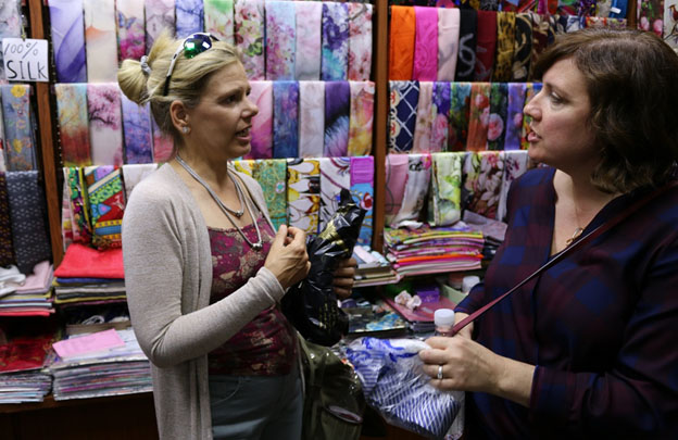 Shanghai Fabric Market