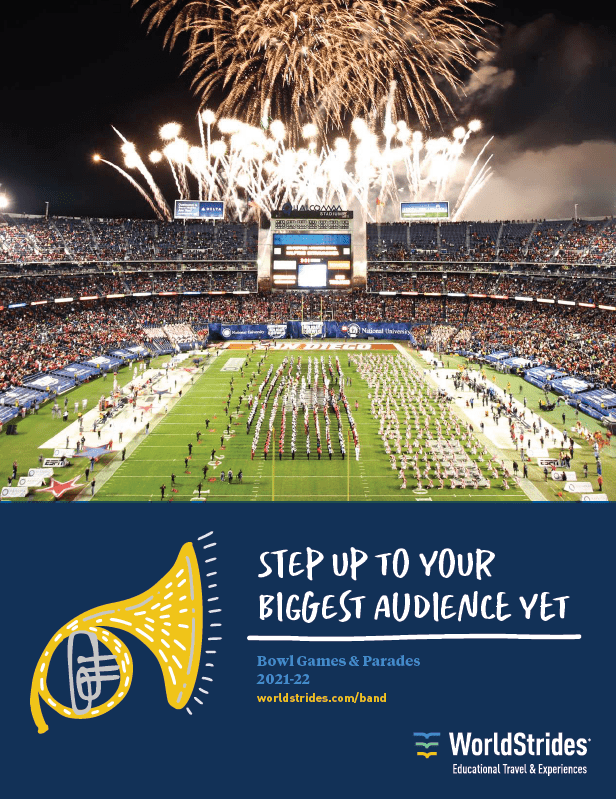 Free Download: Marching Band Brochure