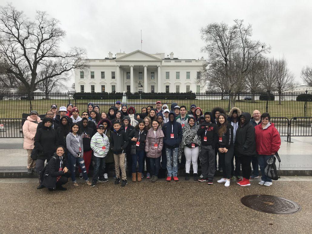 Hurricane Healing Students Visiting White House