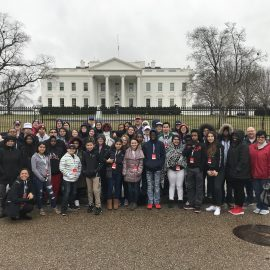 Hurricane Healing Students Visiting White House