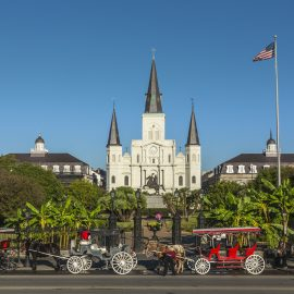 Perform at the Saint Louis Cathedral in New Orleans