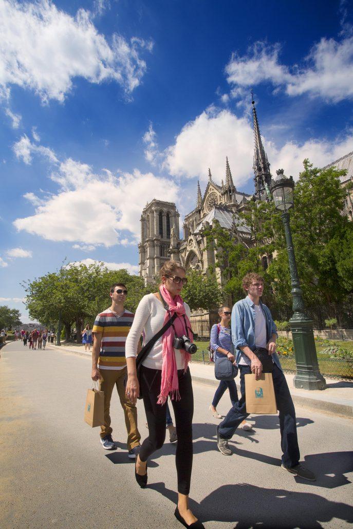 Paris Student Travel Evy Johnson