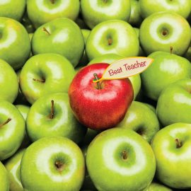 Teacher of the week apples