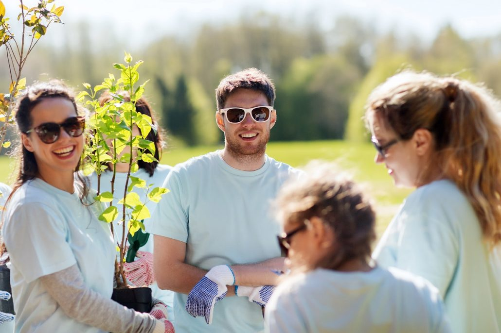 Higher Ed Service Learning Community Garden