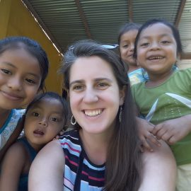 Working with children, Guatemala