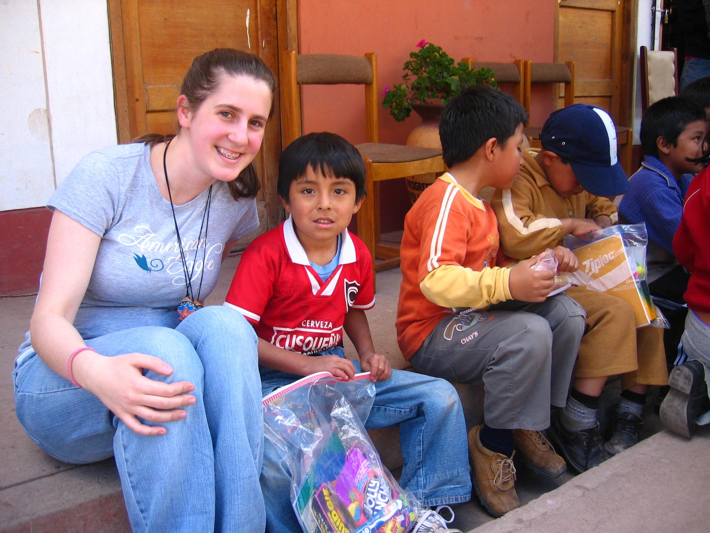 Donations to Pisac schools