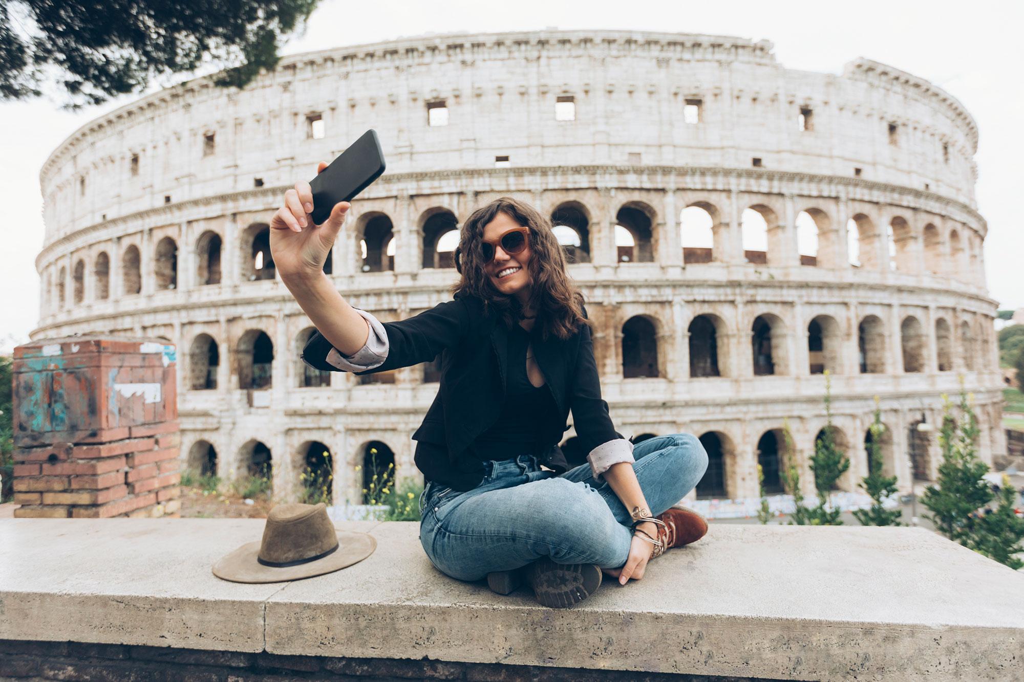 Explore the Coliseum, Rome, Italy