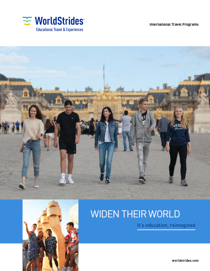 WorldStrides International Catalog