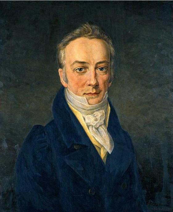 Portrait of James Smithson