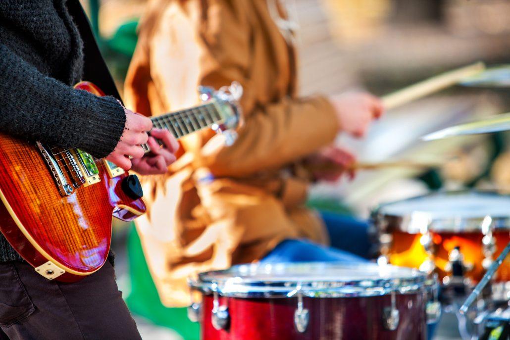 Street musicians, Emerald Invitational Festival