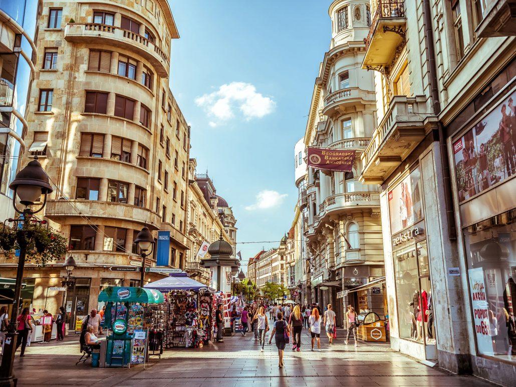Knez-Mihailova-Street-Serbia